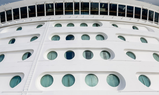 ship portholes photo