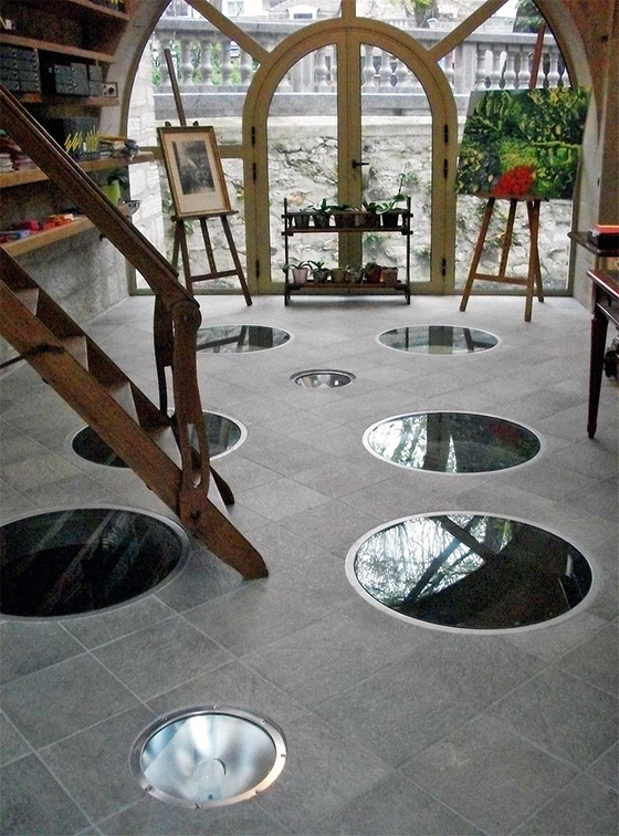 floor portholes photo